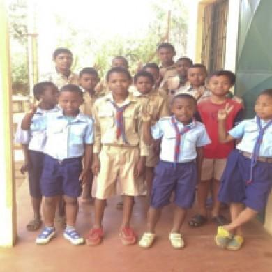Scoutismo en el colegio